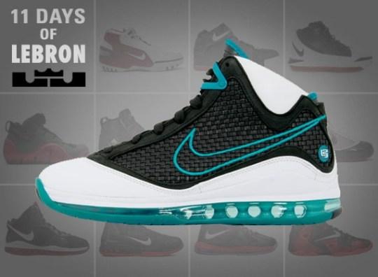 11 Days of Nike LeBron: The Air Max LeBron VII