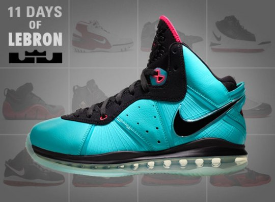 11 Days of Nike LeBron: The LeBron 8