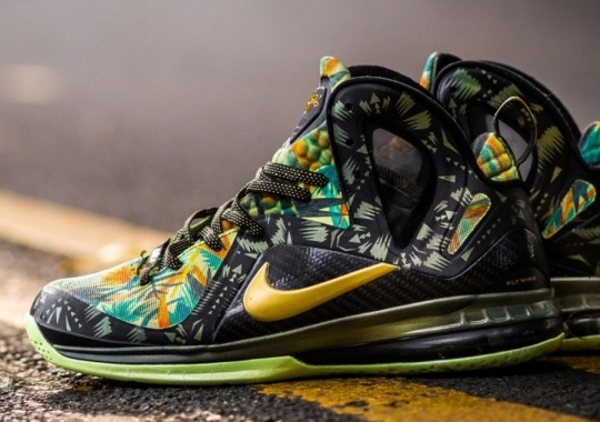 "Nike LeBron 9 Elite ""2 Times Champ"" by District Customs"