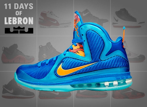 detailed pictures fc6c2 266a2 11 Days of Nike LeBron The LeBron 9