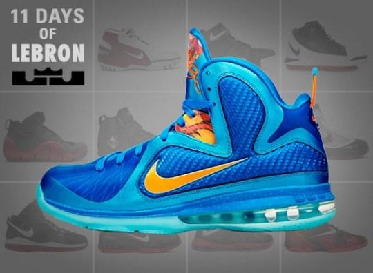 11 Days of Nike LeBron: The LeBron 9