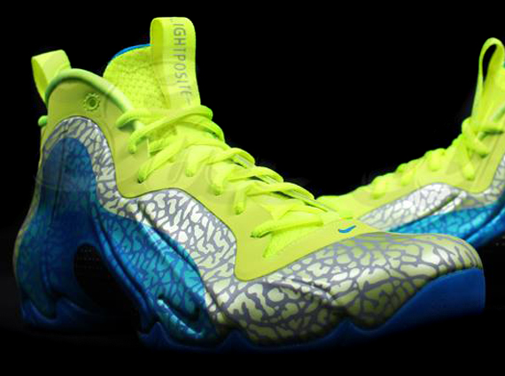 differently 1c89e 3be80 Nike Flightposite Exposed – Volt – Photo Blue – Black   Release Date