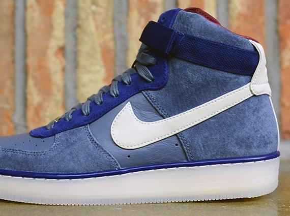 buy popular 07b4e 78bbc Nike Air Force 1 Downtown High - Armory Slate - Mortar - SneakerNews.com