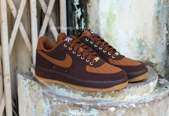 nike air force 1 low brown canvas