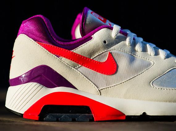 6704c8264ada Nike Air Max 180 - Summit White - Laser Crimson - Bright Magenta ...