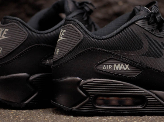"Nike Air Max 90 CMFT PRM Tape ""Reflect"" – Black – Metallic Silver"