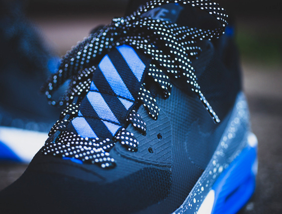 Nike Air Max 90 Sneaker Boot NS Blue Black