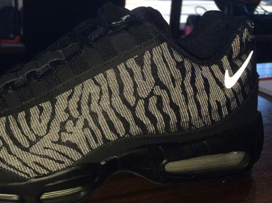 "Nike Air Max 95 PRM Tape ""Reflect"" – Black – Silver"