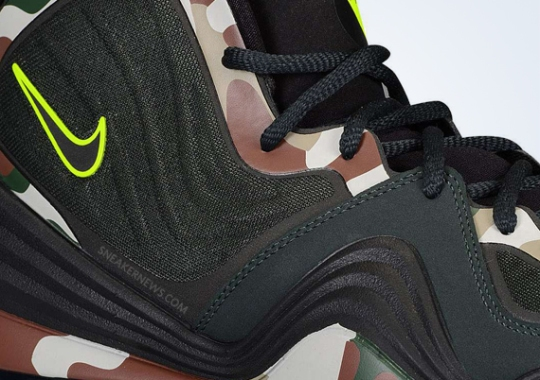 "Nike Air Penny V ""Camo"" – Release Date"