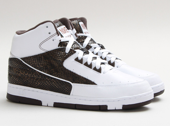 differently 708b0 f9c73 Nike Air Python SP Color  White White-Baroque Brown Style Code  632631-112.  Release Date  11 09 13. Price   150