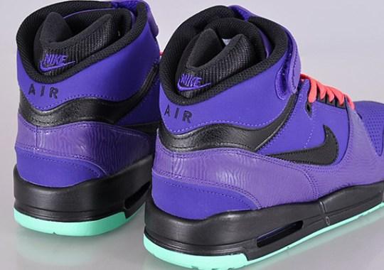 Nike Air Revolution – Electric Purple – Black – Green Glow – Atomic Red