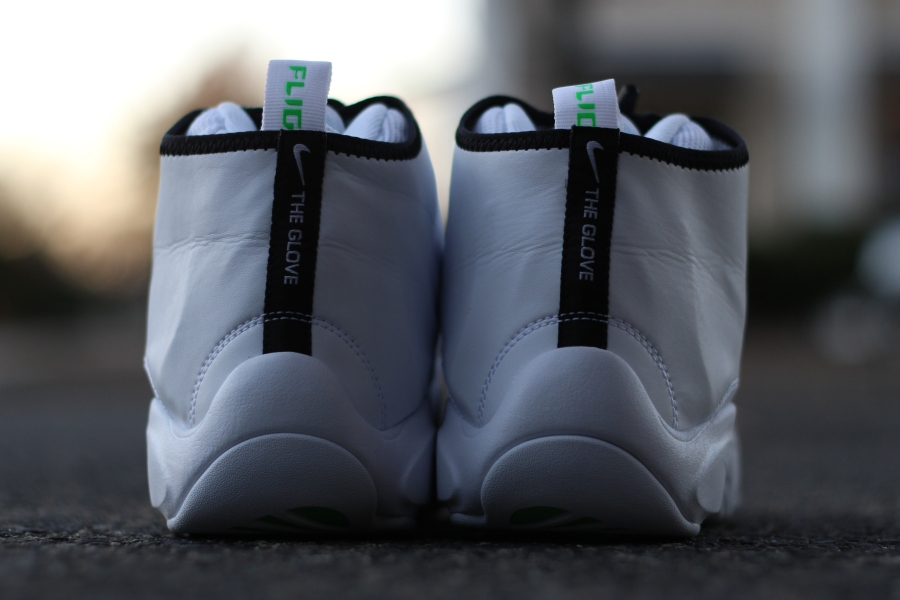 f2645e35a911a Nike Air Zoom Flight The Glove - White - Black - Poison Green ...