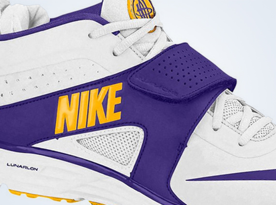 8dd498df9254 Nike Huarache Turf LAX - White - Electric Purple - University Gold ...