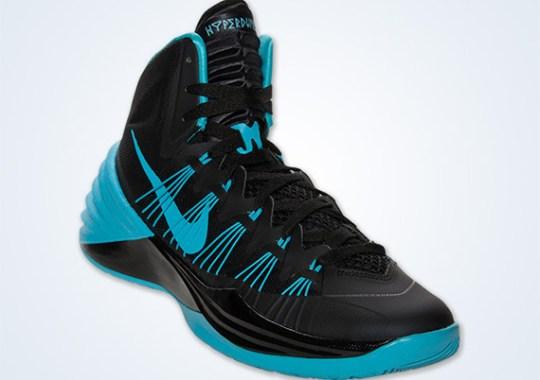 Nike Hyperdunk 2013 – Black – Gamma Blue | Available