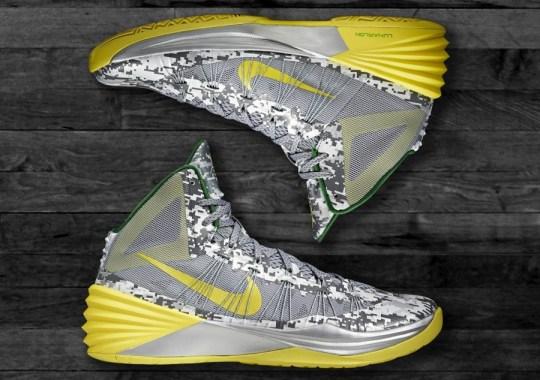 Nike Hyperdunk 2013 – Oregon Armed Forces Classic PE
