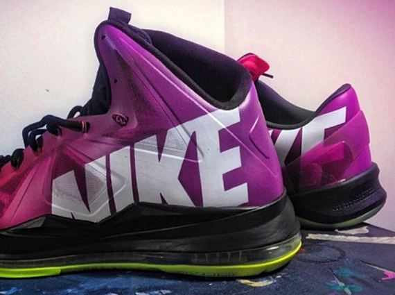 """new product 81e1a 933be Nike LeBron 10 """"KingKurial"""" by Mache Customs"""