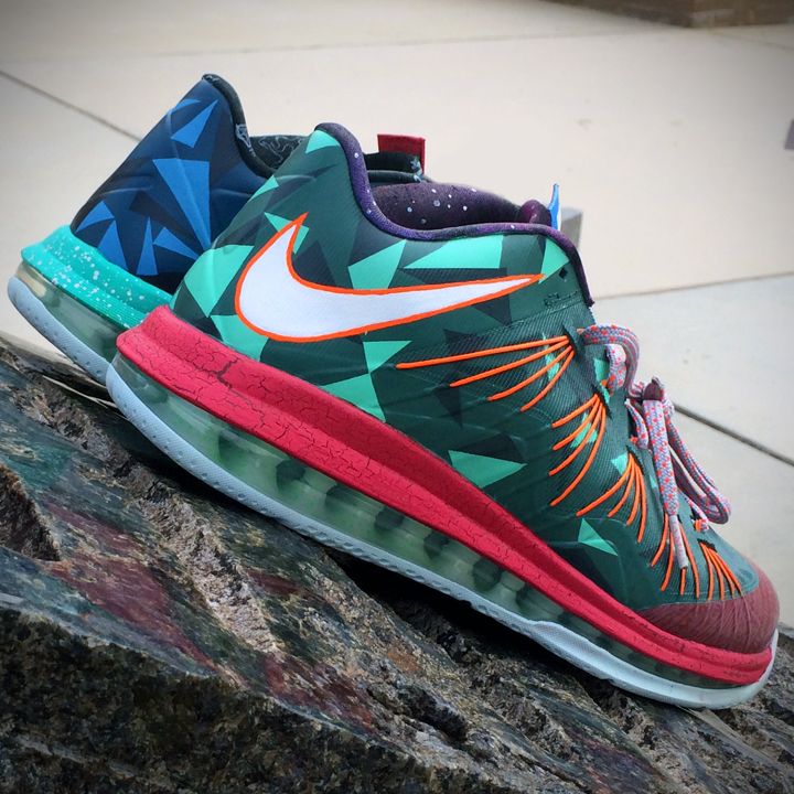 """Nike LeBron 10 Low """"What The MVP"""" by CWhitt Customs ... Lebron 10 What The Mvp"""