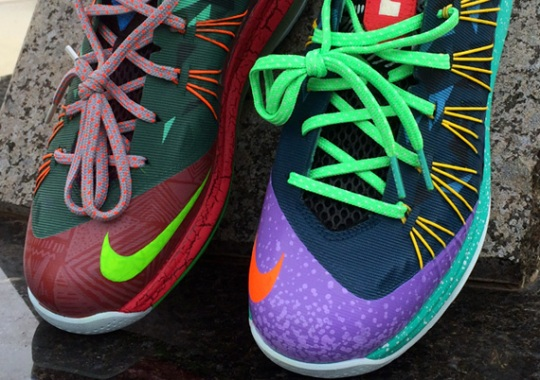 """Nike LeBron 10 Low """"What The MVP"""" by CWhitt Customs"""
