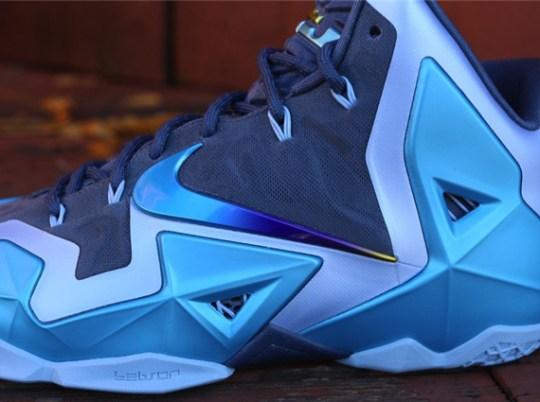 "Nike LeBron 11 ""Gamma Blue"" – Release Reminder"