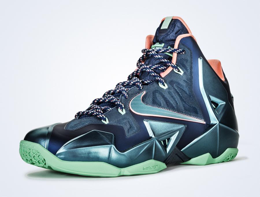 Nike LeBron 11 Akron vs Miami Release Date