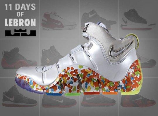 11 Days of Nike LeBron: The Zoom LeBron IV