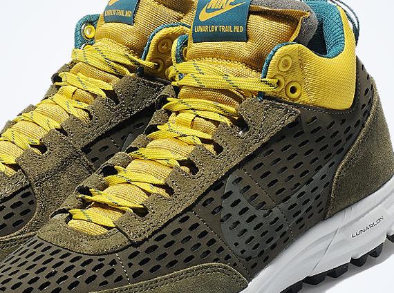 more photos 003fa c8bd6 Nike Lunar LDV Trail Mid – Dark Loden – Yellow – Teal
