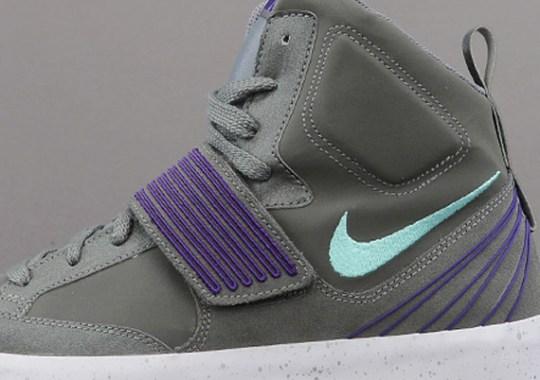 Nike NSW Sky Stepper – Mercury Grey – Green Glow – Court Purple