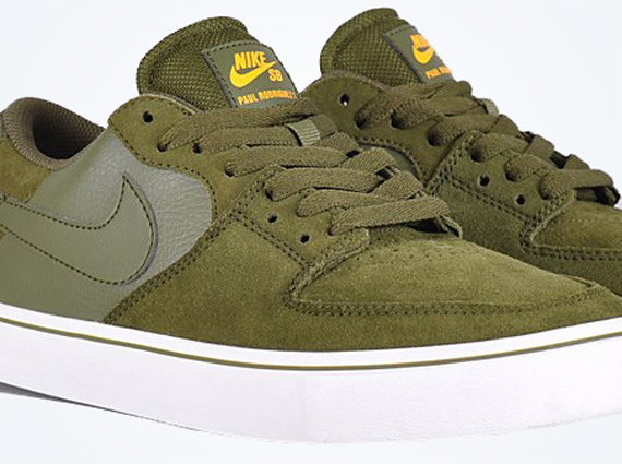 Nike Paul Rodriguez 7 VR – Legion Green – Laser Orange
