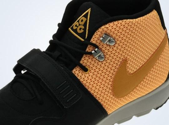 Nike Trainerendor Mid – Black – Laser Orange – Canyon Gold