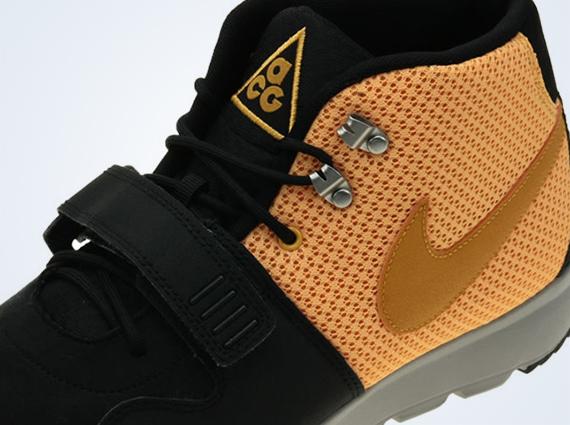 Nike Trainerendor Mid - Black - Laser Orange - Canyon Gold
