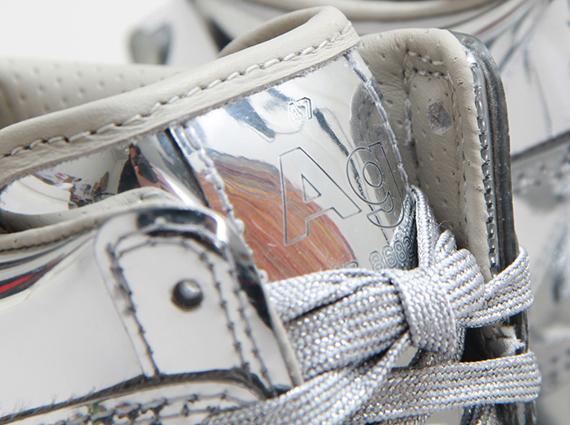 "official photos 6a70a 95491 Nike WMNS Dunk Sky Hi ""Liquid Silver"""
