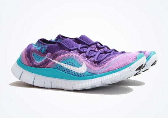 Nike WMNS Free Flyknit+ – Court Purple – Atomic Purple – Turquoise