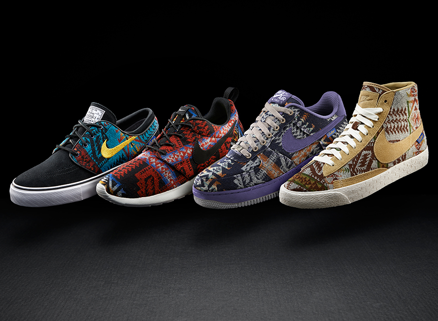 low priced 5b8b2 bcfee Pendleton x NIKEiD Collection - SneakerNews.com