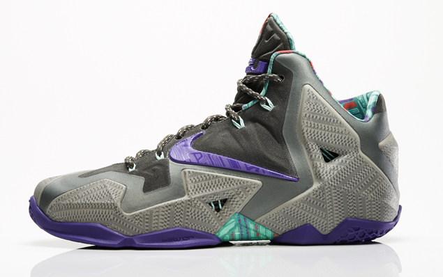 pretty nice 15c77 d6a45 Nike LeBron 11. Color  Mine Grey Electro Purple-Mercury Grey-Newsprint  Style Code  616175-005. Release Date  11 26 13. Price   200