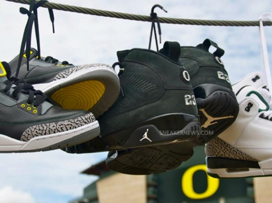 Oregon Ducks Players Suspended For Selling Team PE Sneakers