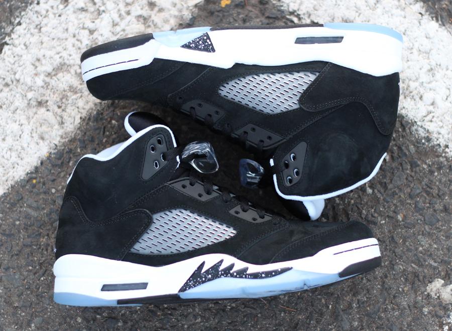 2013 New Nike Air Jordan 5 V Mens Shoes Black