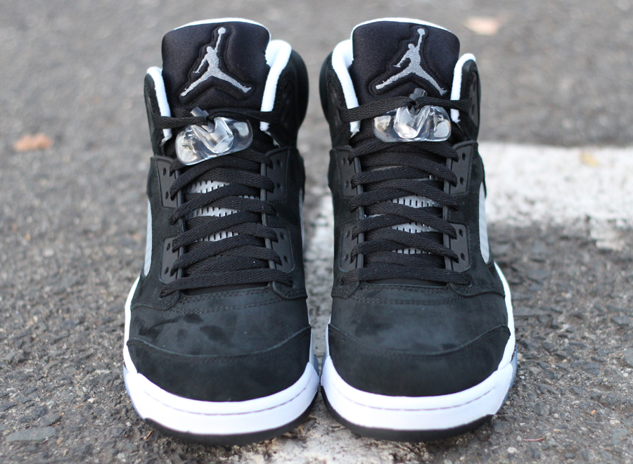 Air jordan 5 oreo arriving at retailers sneakernews shop this article sciox Images