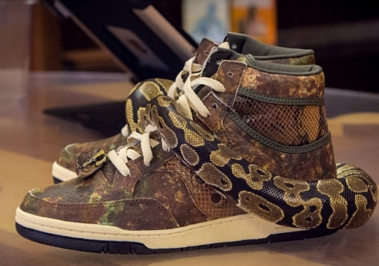 "Packer Shoes x Saucony Hangimte ""Woodland Snake"" – Release Reminder"