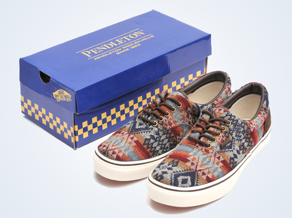 33a34aaf8b5aab Oregon s Pendleton Woolen Mills has been busy in the sneaker world of late