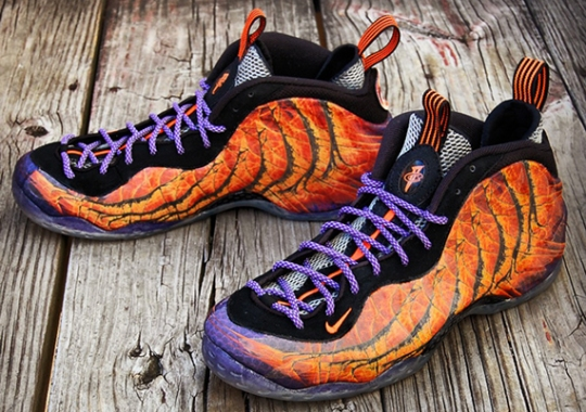 "Nike Air Foamposite One ""Phoenix Rising"" Customs by Gourmet Kickz"