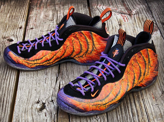 "cheaper bc16b efb2e Nike Air Foamposite One ""Phoenix Rising"" Customs by Gourmet Kickz"
