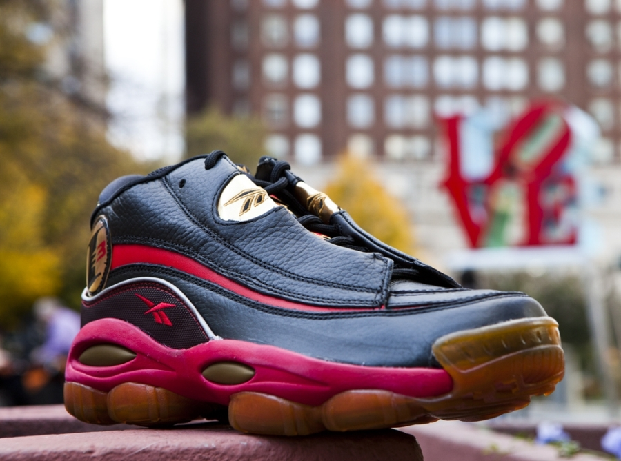 Reebok Answer 1 – Black – Red – Gold