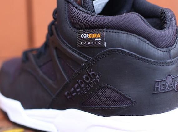 0a9d1049877 Reebok dropped a couple of Cordura colorways on the Pump Omni Lite and  Insta Pump Fury a couple of months back. Both pairs were tonal grey with  white soles ...