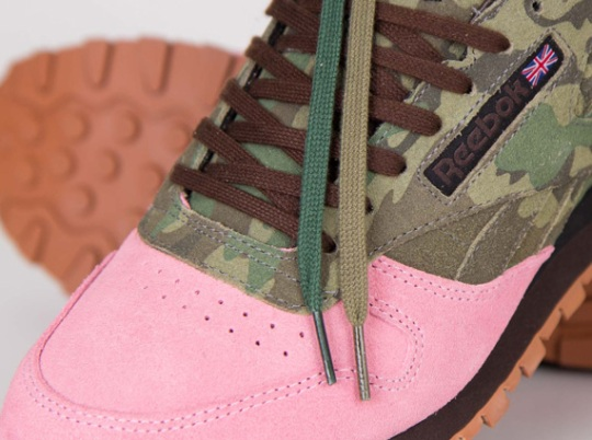 """Shoe Gallery x Reebok Classic Leather """"Flamingoes at War"""" – Release Date"""