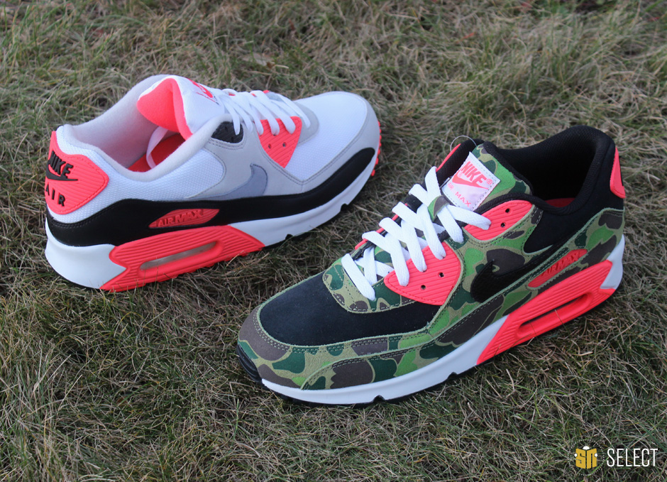 buy popular e2ee7 47f30 Watch out for the atmos x Nike Air Max 90 hitting Bodega this weekend and  stay tuned to Sneaker News for further release information coming soon.