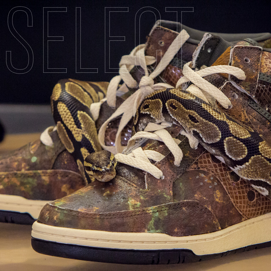 Packer Shoes x Saucony Hangtime  Attack of the Woodland Snake 35908ed7a8