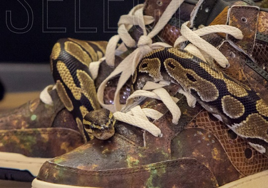 Packer Shoes x Saucony Hangtime: Attack of the Woodland Snake