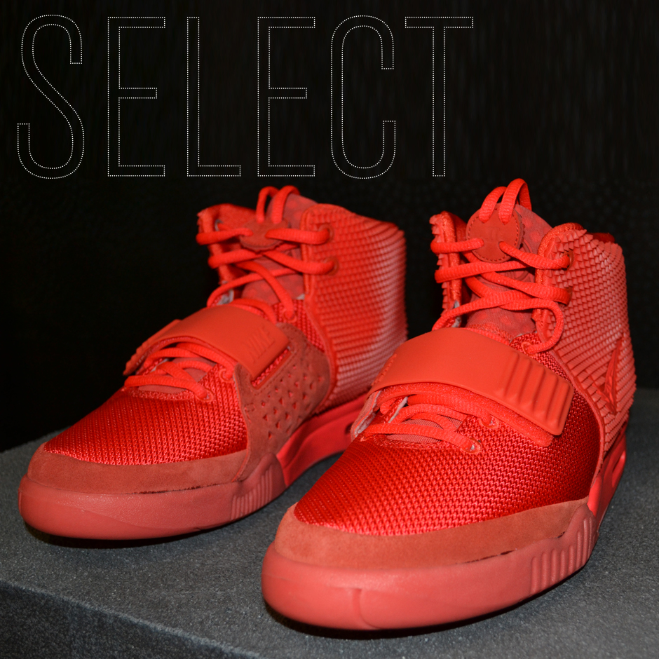 58ededaca SELECT Exclusive  The Red Air Yeezy 2