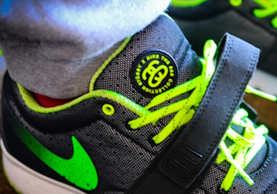 Stussy x Nike Trainerendor Low
