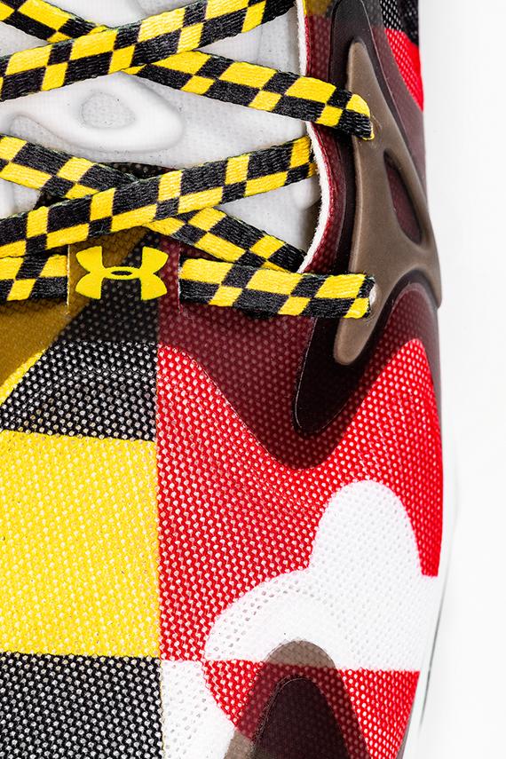 Maryland Under Armour Basketball Sko Til Salgs RIioI